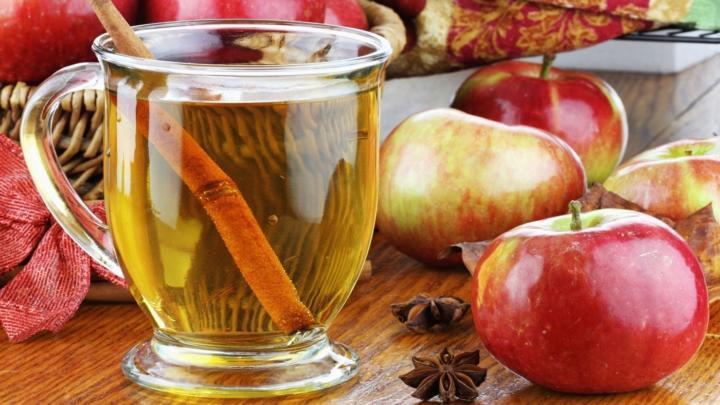 Жиросжигатель из яблок и имбиря