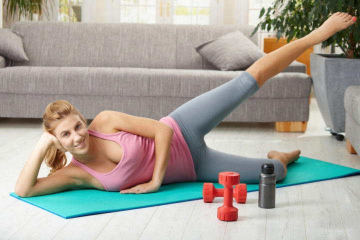 Тренировки для похудения дома для начинающих