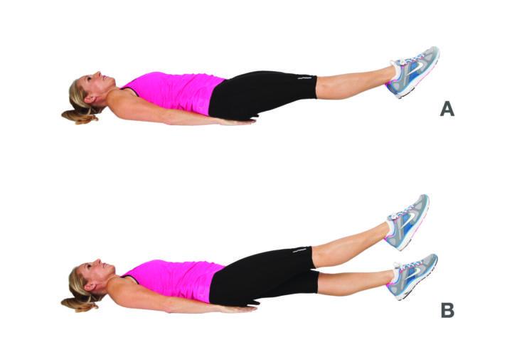 Упражнение водолаз