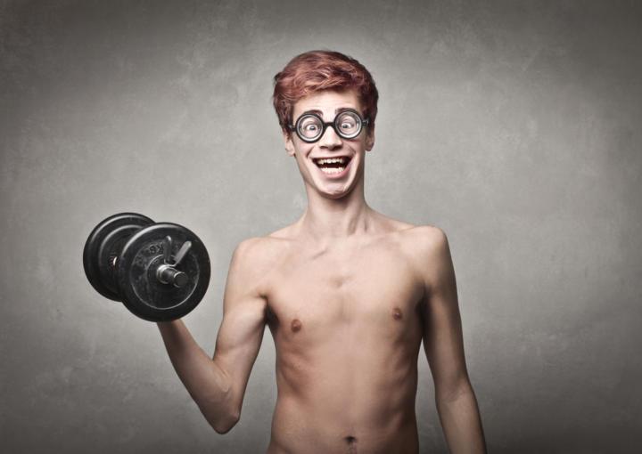 Как набрать вес парню